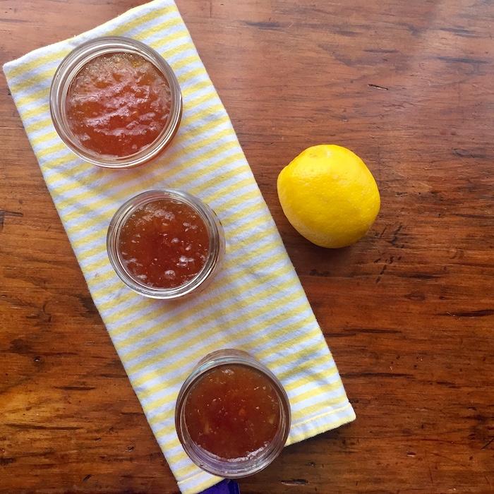 Lemon Marmalade, so good.