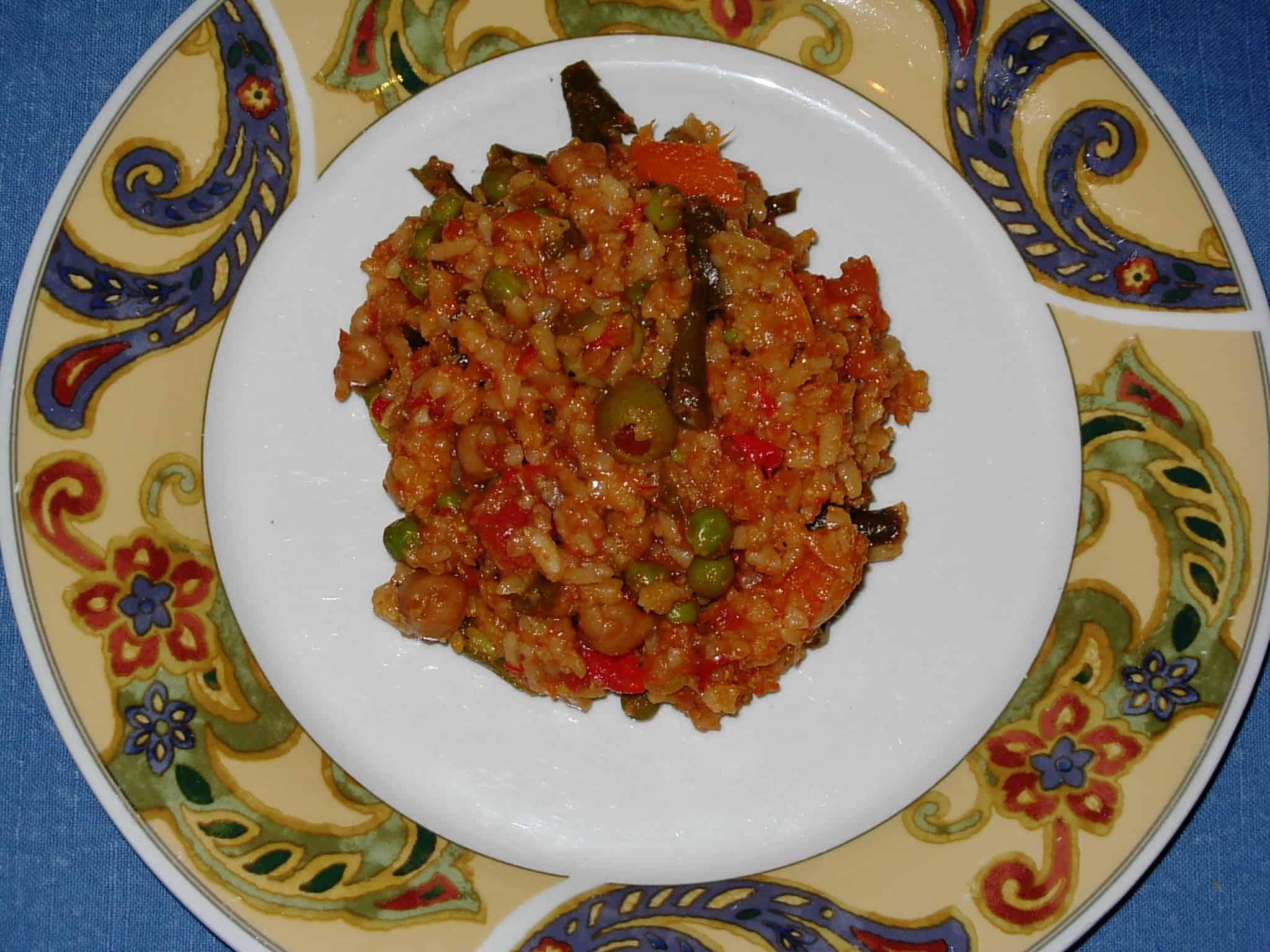 Slow Cooker Arroz non Pollo