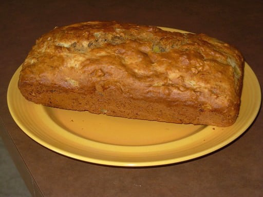 My Favorite Banana Bread is a very moist banana bread. It's terrific toasted.