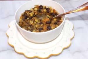 Chilean Bean Corn Stew