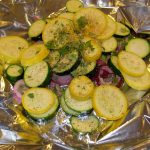 While you are grilling your meat, add a scrumptious Squash Bake.