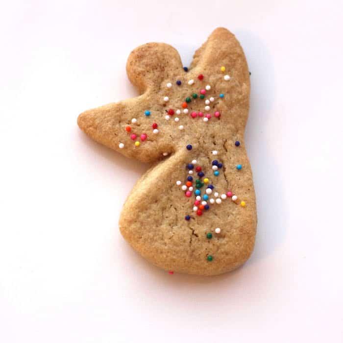 Gluten Free Brown Sugar Sugar Cookie