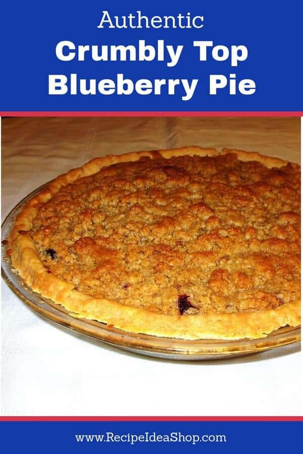 #crumblytopblueberrypie; #blueberrypie; #blueberry-pie; #easy-blueberry-pie; #homemade-blueberry-pie; #recipeideashop