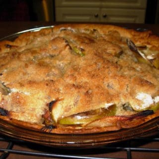 Don's Crumbly Top Apple Pie