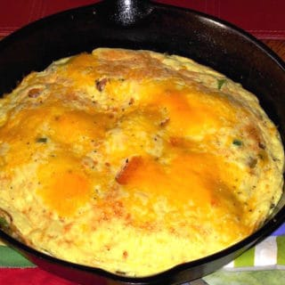 Cheesy Frittata