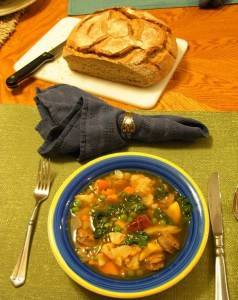Clean-Out-The-Refrigerator Soup