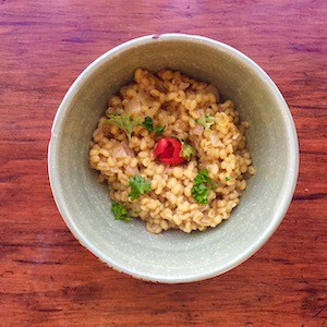 Barley Risotto Recipe