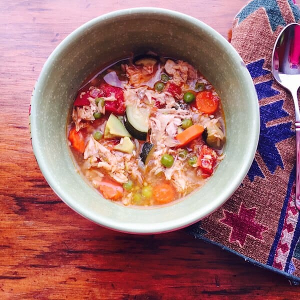 Mexican Chicken Soup: Great cold fighter! Excellent anytime. #MexicanChickenSoup, #chickensoup, #recipeideashop