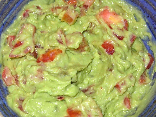 You can't beat homemade Guacamole. Try it. This recipe is the best (IMHO).