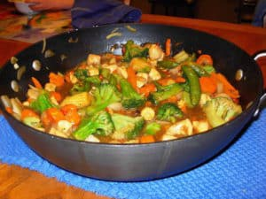 We call this Chinese Chicken Stir Fry, and it is very tasty.