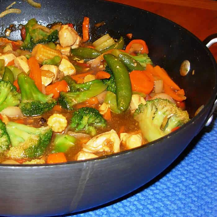 Chinese Chicken Stir Fry is one of our family favorites.