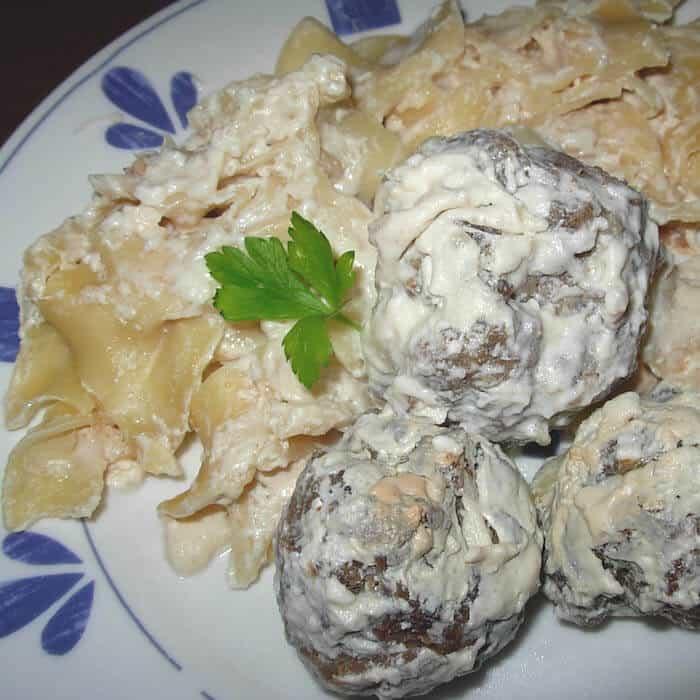 This Swedish Meatballs Recipe is super easy.