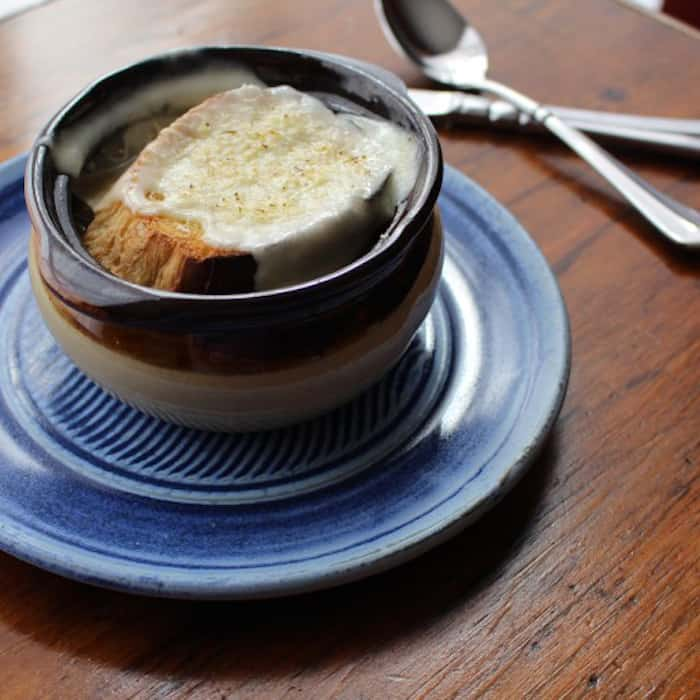 French Onion Soup, ready to eat.