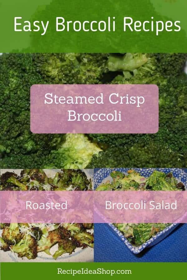 How do you like your broccoli? #broccoli #easybroccolirecipes #broccolirecipes #easyrecipes #easypeasy #recipes #glutenfree #recipeideashop