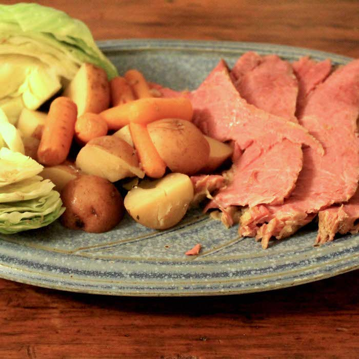 Boiled Corned Beef and Cabbage Dinner is so easy anyone can make it.