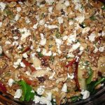 Pears, walnuts, and gorgonzola make this Pear and Walnut Salad a real feast.