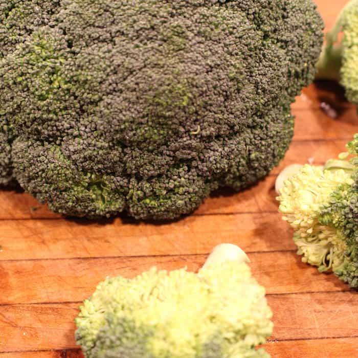 Broccoli. My favorite vegetable.