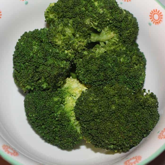 Beautiful Steamed Broccoli