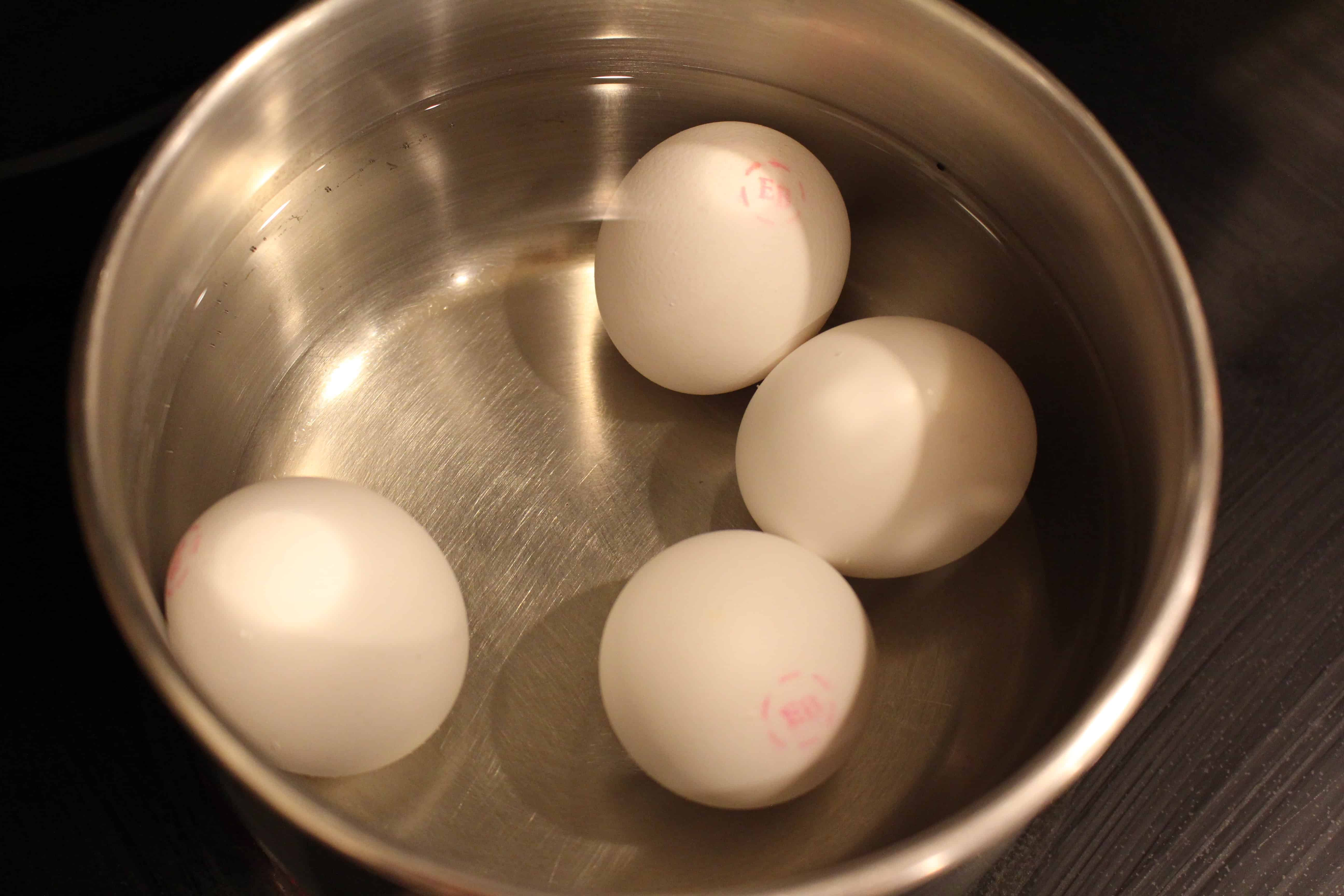 Step 1: How to make hard boiled eggs