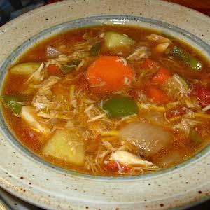Mulligatawny Chicken Soup