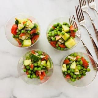 Pea and Cucumber Salad
