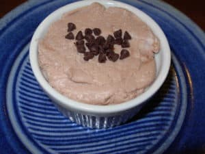 Mocha Ricotta Creme is quick and delicious.