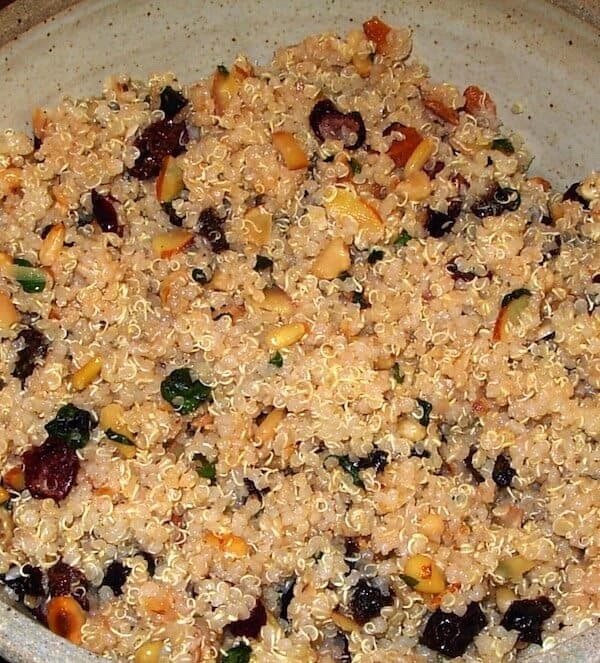 Quinoa Fruit Nut Salad