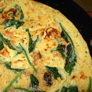 Easy Smoked Salmon Frittata