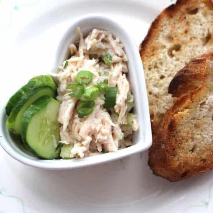 Tarragon Chicken Salad is so tasty.