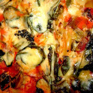 Low Fat Vegetable Lasagna Bechamel