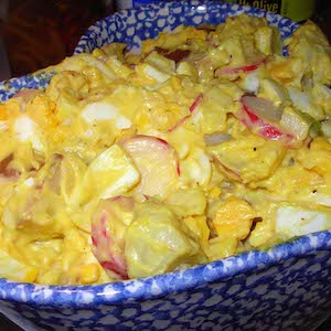 Egg-y Potato Salad. Yum!