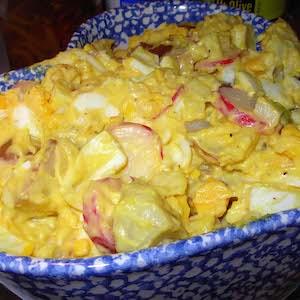 Egg-y Potato Salad. Yum!