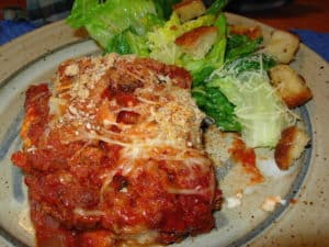 Eggplant Parmesan Carnivore