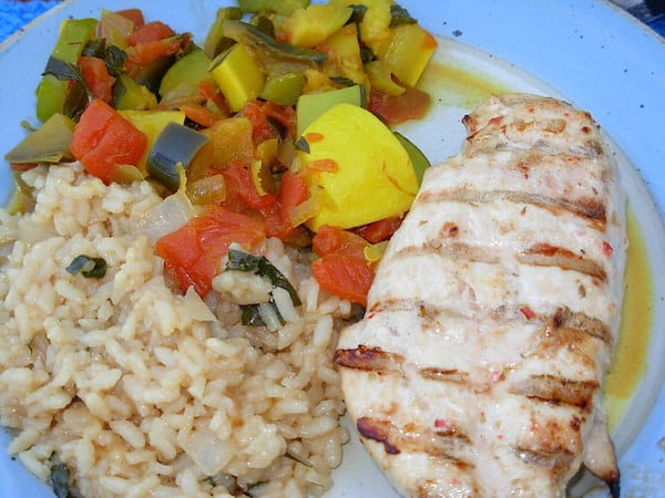 Easy peasy Italian Chicken.