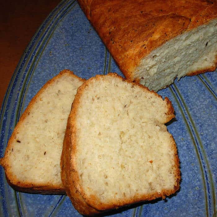 Dill Bread (Dillie Bread) is good alone or with chipped beef on toast.