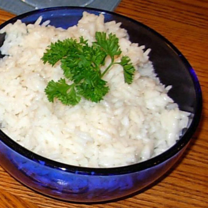 Coconut Basmati Rice tastes great and is so easy.