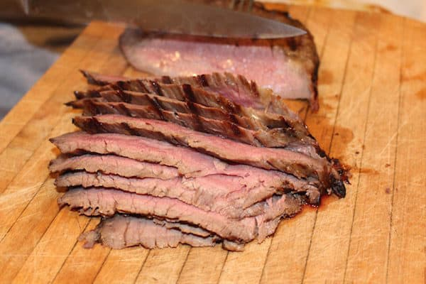 Tender, Juicy Marinated Flank Steak