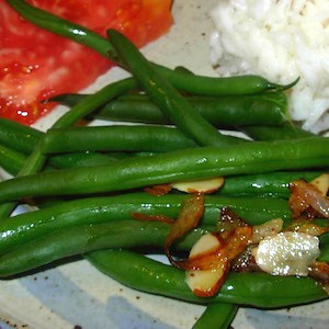 Green Beans Almandine, crispy and tasty.