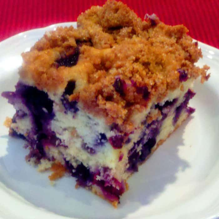 Blueberry Buckle. Scrumptious family favorite.