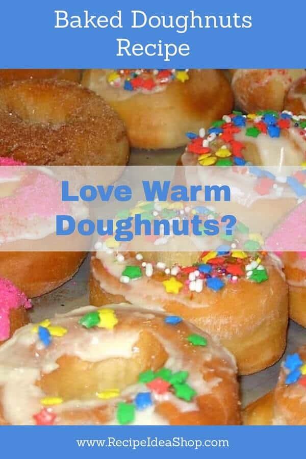 Baked doughnuts, just like the raised doughnuts grandma made. #bakeddoughnuts #donuts #raiseddoughnuts #kidsfavorites #recipes #recipeideashop