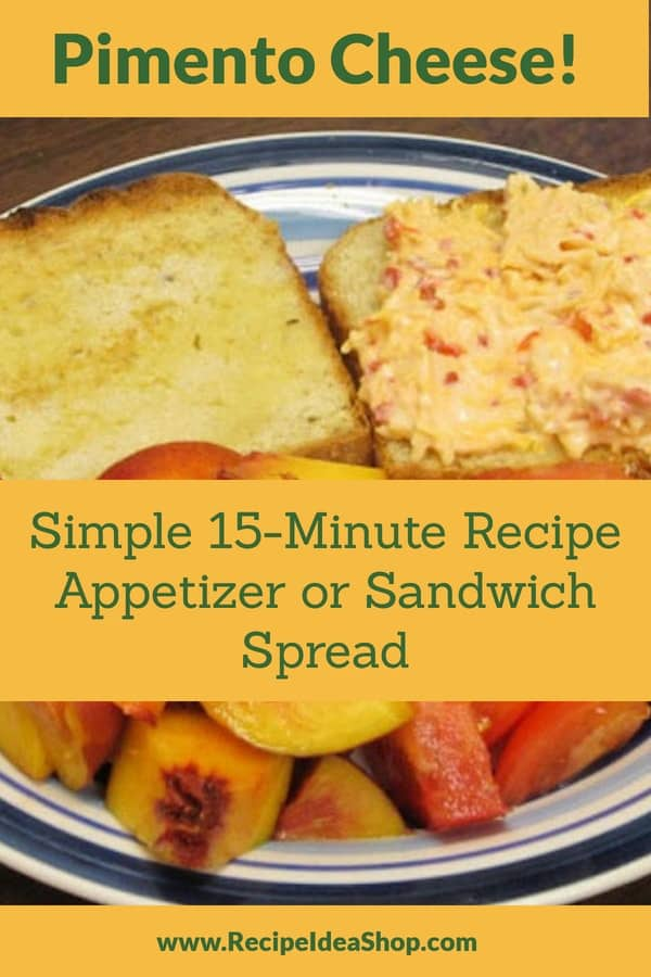 Southern Pimento Cheese Spread. Super good. #pimentocheesespread #pimentocheese #southernrecipes #southern-recipes #sandwiches #cheese #recipes #glutenfree #recipeideashop