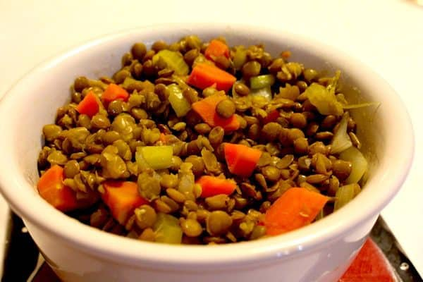 French Green Lentils are firm and flavorful.