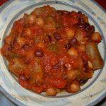 Vegan Jambalaya is spicy and tasty.