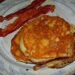 Iranian Yogurt Pancakes