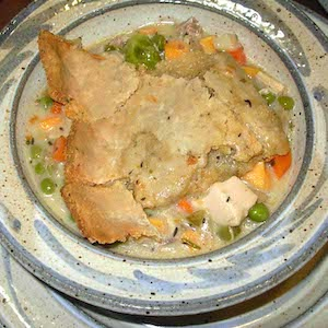 Savory Turkey Potpie. Yum!