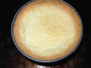 Don's Gluten Free Shortbread Pie Crust