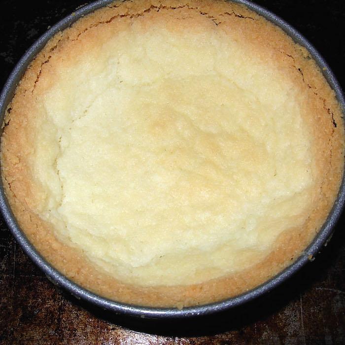 Don's Gluten Free Shortbread Pie Crust tastes so good.