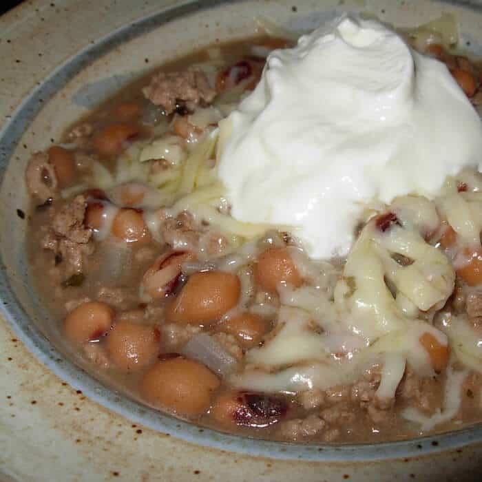 Black Eyed Peas White Chili Easy Recipe Recipe Idea Shop