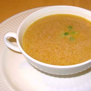 Coconut Carrot Ginger Soup