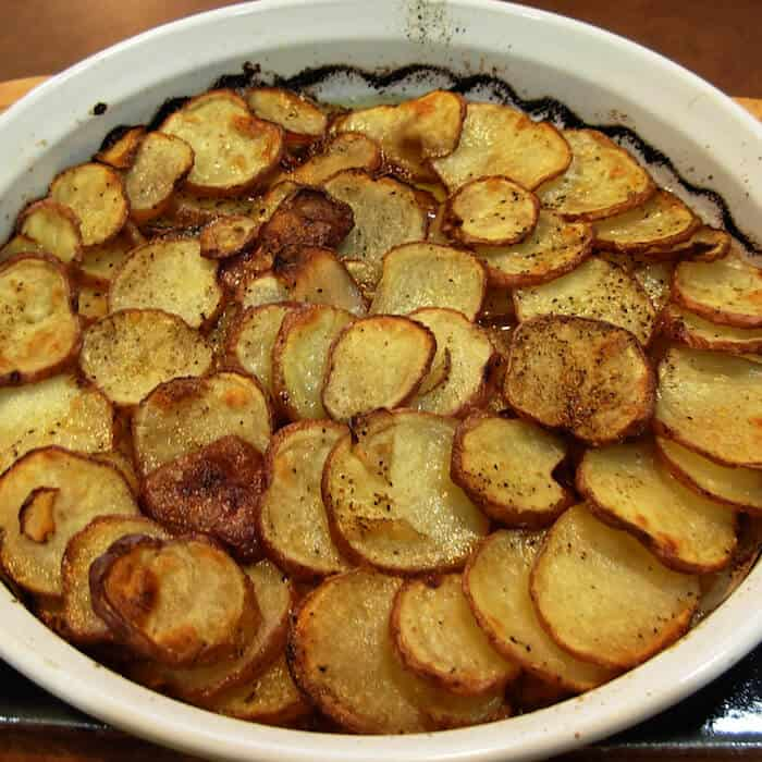 This Potatoes Anna recipe is super easy.